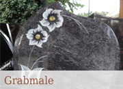 Grabmale und Urnengrabmale - Musterausstellung